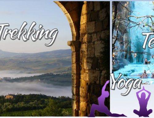 Trekking, yoga e terme in Val d'Orcia